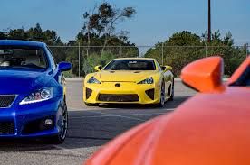 lexus rc f starting price exclusive photos 2015 lexus rc f poses with lfa is f sc 400