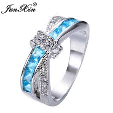 aliexpress buy junxin new arrival black aliexpress buy junxin light blue cross ring fashion white