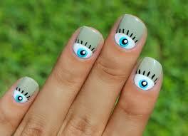 25 best ideas about evil eye nails on pinterest moon manicure