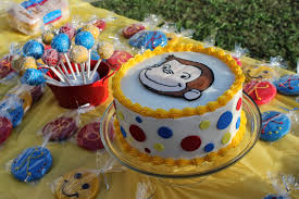curious george birthday cake the simple cake another curious george birthday cake