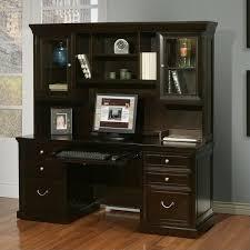 Small Espresso Desk To Go U Shaped Espresso Office Desk Layout With Hutch Inside Decor