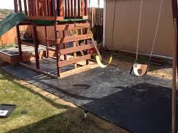 backyard playground ground cover outdoor goods