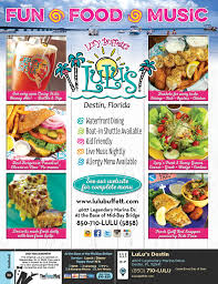 Destin Florida On Map by Lulu U0027s Destin Menu U0026 Coupons The Menu Mag