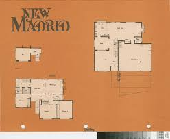 calisphere new madrid casa sandia plan 640 floor plan and