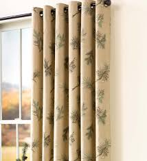 thermalogic insulated peaceful pine grommet top curtain pairs 84