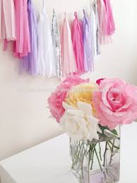 new lilac purple pink and silver tassel garland party decor
