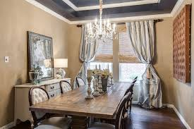 Traditional Dining Room With Chandelier  Hardwood Floors In - Traditional dining room chandeliers