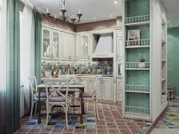kitchen country kitchen with shabby chic decor also high window