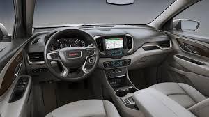 gmc terrain back seat 2018 gmc terrain denali interior colors gm authority