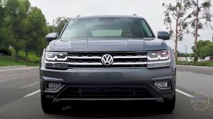 volkswagen atlas exterior vw atlas review gives it the thumbs up
