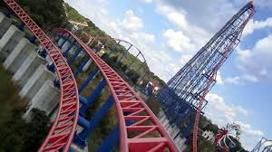 How Old To Work At Six Flags Superman Ride Of Steel Front Seat On Ride Hd Pov Six Flags