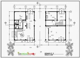 layout denah cafe gambar kerja tempat usaha ruko dan bengkel ide kreasi rumah