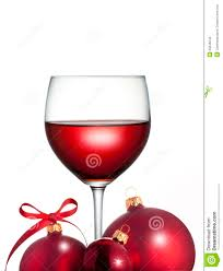 christmas red wine glass stock photos image 26246243
