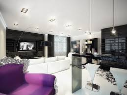 living room awesome gallery of black white and purple living