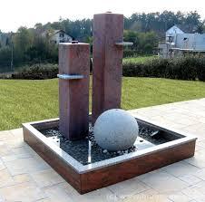 granit brunnen modern tröster u0027s brunnenwelt