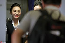 world u0027s most beautiful stewardess serving passengers with smile 1