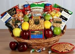 chagne gift basket office party