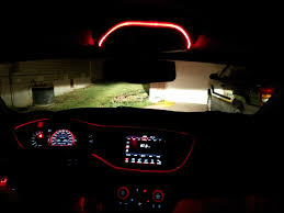 Auto Led Light Strips Interior Led Strips Led Interior Light Strips Installed On Honda