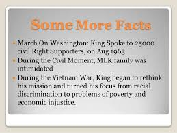 some facts about martin luther king by paperomatic