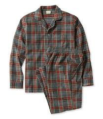 s scotch plaid flannel pajamas free shipping at l l bean