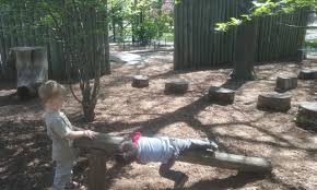 Garden Boundary Ideas by Seven Ways To Incorporate Nature In Playground Design A Case