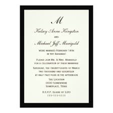 belated wedding card post wedding reception invitations announcements zazzle