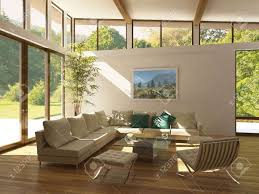Square Floor L Living Room Calm Large Window Living Room With Textured Wood