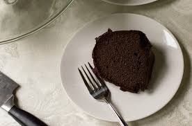 moist gluten free triple chocolate bundt cake