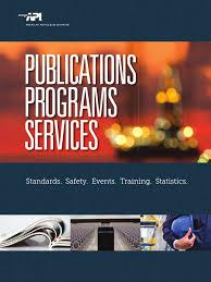 2015 api catalog oil refinery offshore drilling