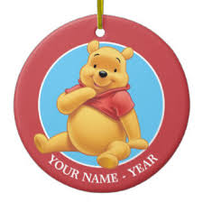 winnie the pooh ornaments keepsake ornaments zazzle