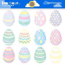 pastel easter eggs easter eggs clipart easter clip for instant pastel