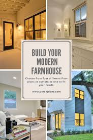 32 best premium modern farmhouse plans images on pinterest choose from four modern farmhouse floor plans or customize one to make it your own