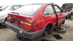 vintage honda accord junkyard find 1984 honda accord hatchback