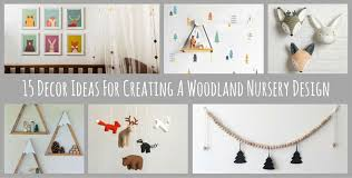 Woodland Decor Nursery 15 Decor Ideas For Creating A Woodland Nursery Design Contemporist