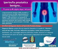 le proprietã magnesio supremo magnesio sulla salute della prostata
