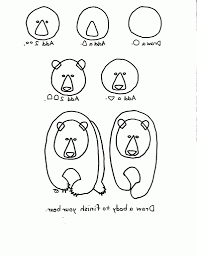 easy drawing of a bear how to draw a teddy bear step step easy