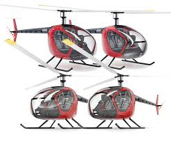 the making of the scout helicopter exterior