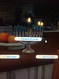 cool menorah that s so cool i never knew you could light one candle on the