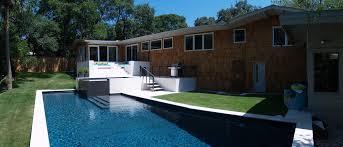living room modern infinity swimming pool amazing modern swimming