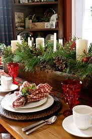 Outdoor Decorations For Christmas Martha Stewart by Mahogany Outdoor Christmas Table Setting Sets Decorating Design