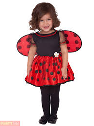 childs toddler ladybird bumble bee costume girls ladybug fancy