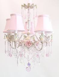 Light Fixtures For Girls Bedroom Bella Rose Chandelier Rosenberryrooms Com