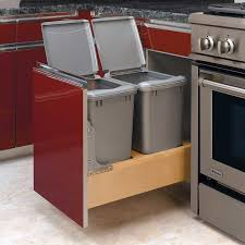 kitchen garbage cabinet uncategories kitchen trash can slider trash cabinet undercounter