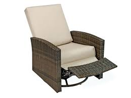 Patio Recliner Lounge Chair Patio Reclining Chair Outdoor Reclining Lounge Chair With Ottoman
