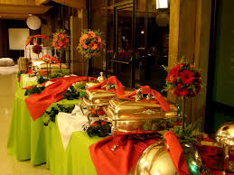 breathtaking buffet table arrangement ideas 86 for your trends