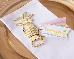 bottle opener favors pineapple shaped bottle opener