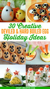 30 creative deviled egg and boiled egg ideas
