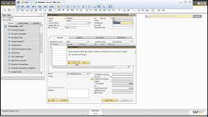 sap b1 purchasing a p invoice youtube