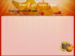 free thanksgiving powerpoint templates 8