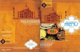 indian menu template menu templates free pdf word documents creative template
